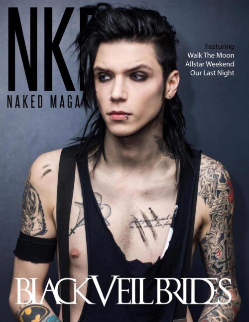 Andy Biersack na Naked Magazine Andy Biersack 18